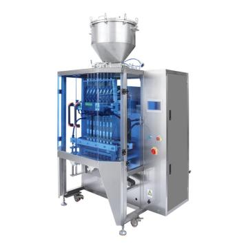 Multi-row back sealing liquid packing machine