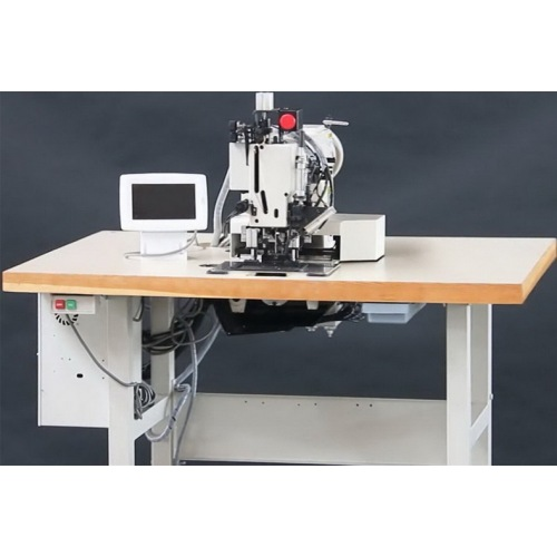 Extra Heavy Duty Automatic Rope Pattern Tacking Sewing Machine