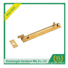 SDB-019BR Hot Whole For Sale Latest Flange Door Brass Flush Bolt Wooden Doors