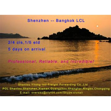 LCL Consolidation Shipping from Shenzhen to Bangkok