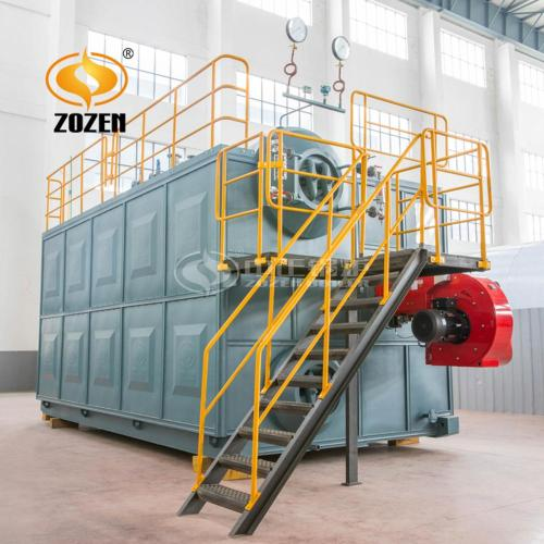 Double Drum and Water Tube Gas Steam Boiler