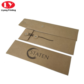 Watch Strap Packaging Small Kraft Paper Envelopes
