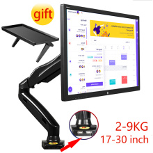 "NB F80 USB3.0 Desktop Gas Spring 17-27"" LCD LED Monitor Holder Mount Arm Full Motion Display Stand Loading 2-9 kg mount stand"