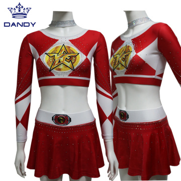 College Cheering Squad Uniforms