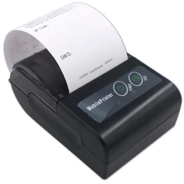 58HB6 Bluetooth Printer Mini Portable Ticket Machine Butler