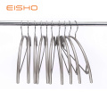 PVC Coating Metal Clothes Hanger with Chrome Hook