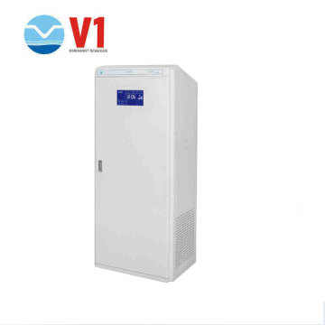 80m3 Electronic air cleaner uv sterilizer cabinet CE