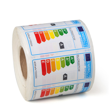 Personalised Adhesive Electrical Product Power Sticker Label