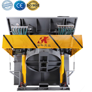 Aluminum metal smelting plant melting furnace for sale