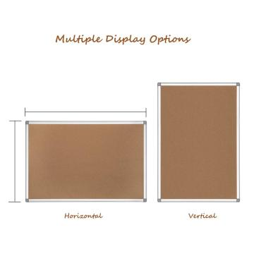 High quality office wall mount cork Bulletin board