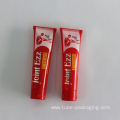 cosmetic plastic tube for face clean packaging