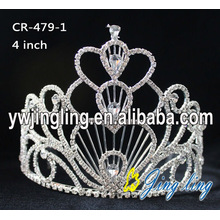Holiday Heart Shape Pageant Crowns