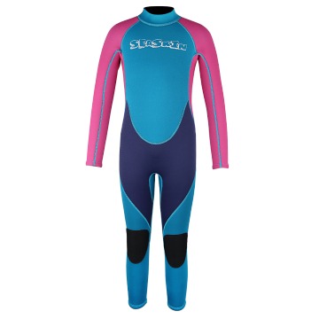 Seaskin Back Zip One Piece Wetsuit for Girls
