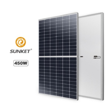 High Efficiency Half cut 450w Mono Solar Panel