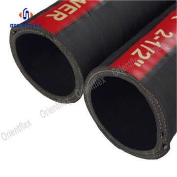industrial black diesel delivery rubber hose pipe 100ft