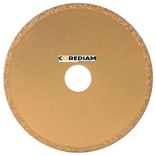 180mm Continuous Vacuum Brazed Diamond Saw Blade