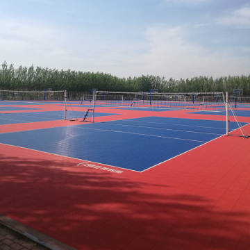 ITF/OutdoorTennis Court Flooring/PP Interlocking Flooring