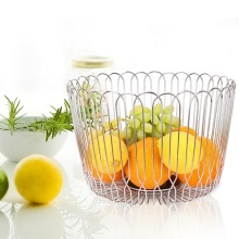 Home Decorative Stainless Steel Fruit Storage bowl