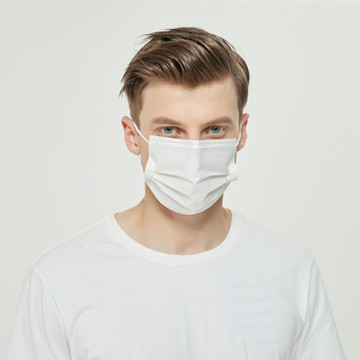 Breathable 3 Ply Disposable Paper Face Mask