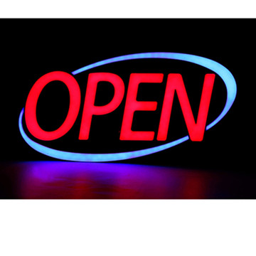 30'' LED Open Sign Light Box Large for Sale