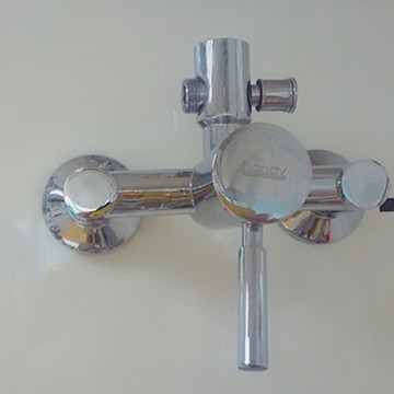 Chrome Plated Wall-mounted Rain Shower Mixer