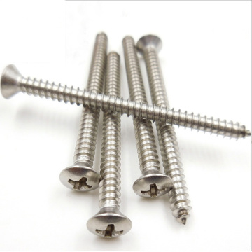 DIN7995 Corss Recessed Raised Countersunk Head Wood screws