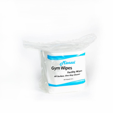Disposable Gym Cleansing Wipes For Use
