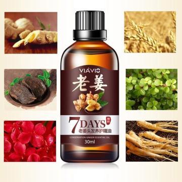 7 Days Ginger Hair Growth Essential Oil Hairs Essential Serum Growth Oils Hair Y6O0