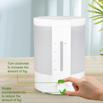 Large Capacity 2l Ultrasonic Cool Mist Air Humidifier