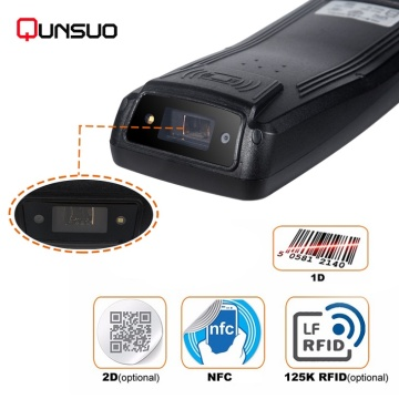 Secondary development handheld pda barcode scanner machine