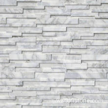 Grey Quarzite Honed 3D Wall Stone Panel