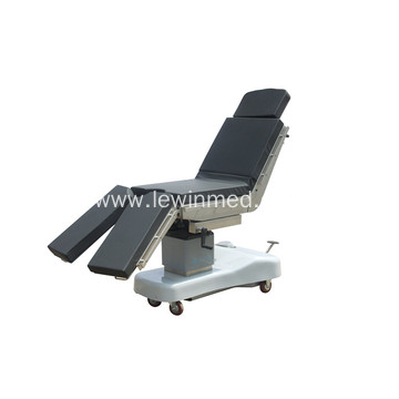 Manual hydraulic operation room bed