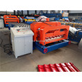 Step Tile Glazed Roof Panel Roll Forming Machine