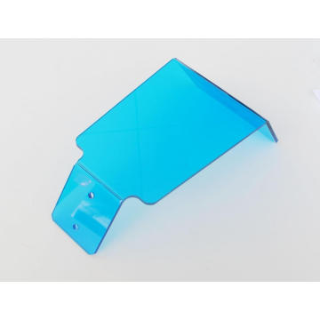 Polycarbonate bending parts for machine parts