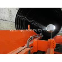 Galvanized Steel underground corrugated pipe machine