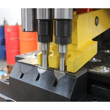 Enhanced Hydraulic Press Plate Punching Marking CNC Machine