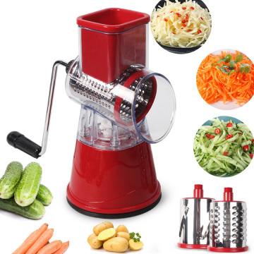 Vegetable Cutter Round Slicer Graters Potato Carrot Cheese Shredder Meat Grinder Vegetable Chopper kitchen Roller Gadgets Tool