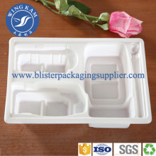 White Blister Tray Food Separate Tray