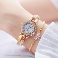 BS-FA1531 Fashion Rose Gold Rhinestone Cross Luxury watch
