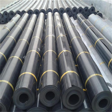 UV Resistance 1.2mm Black Geomembrane for Polluted River