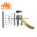 Children outdoor playground entertainment facility