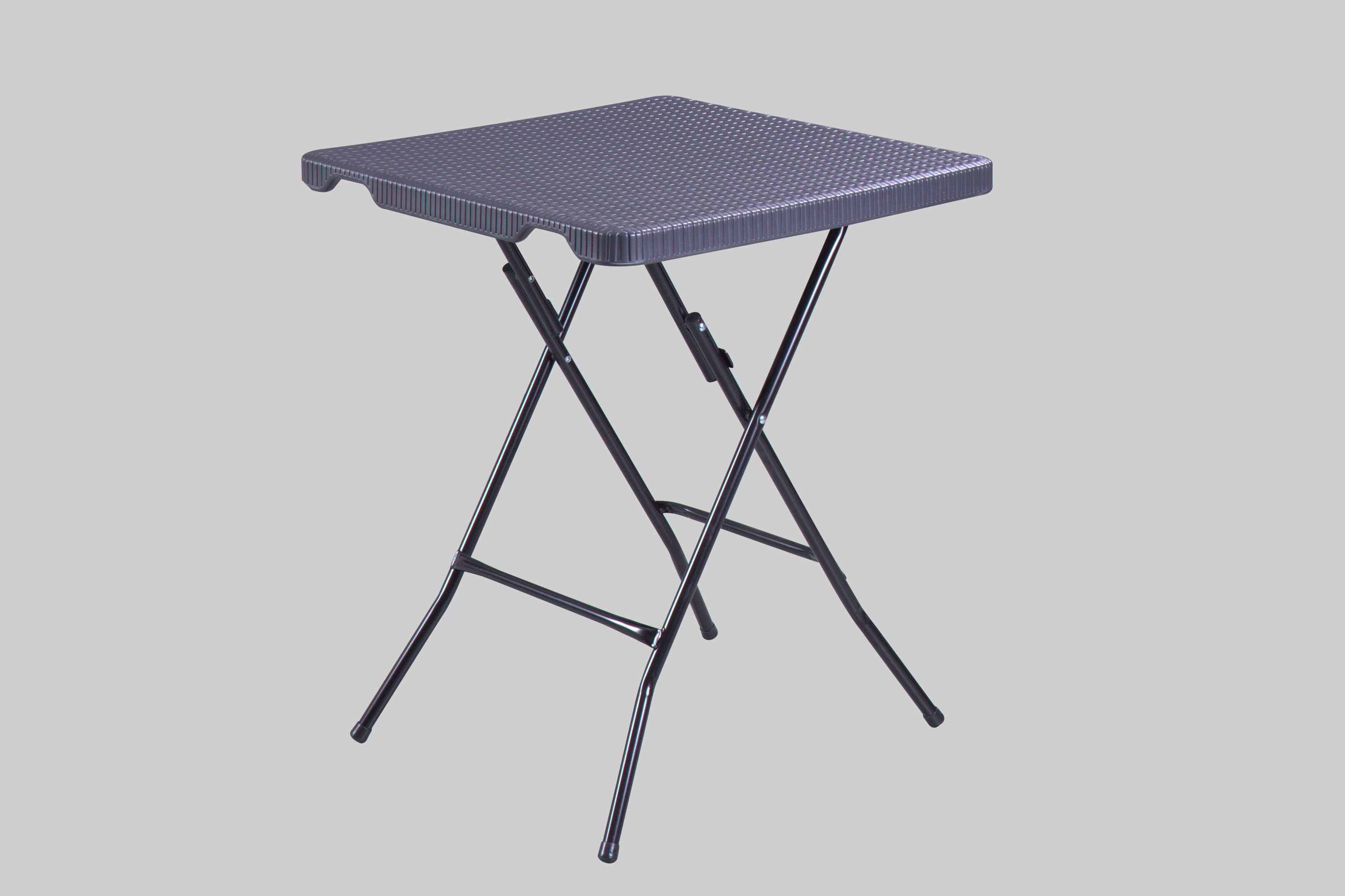Rattan Plastic Folding Table Outdoor
