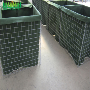 Hesco Barrier Bastion Welded Gabion Box Explosion-Proof Wall