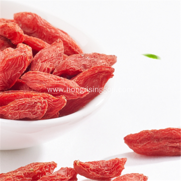 New Certificate Eu Dried Goji berry