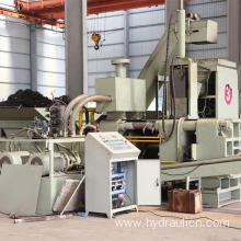 Horizontal Steel Metal Scraps Chips Block Making Machine