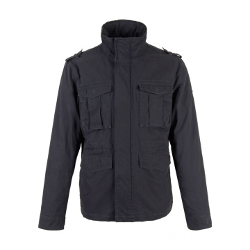 Wholesale Black Short Winter Men's Padded Jackets