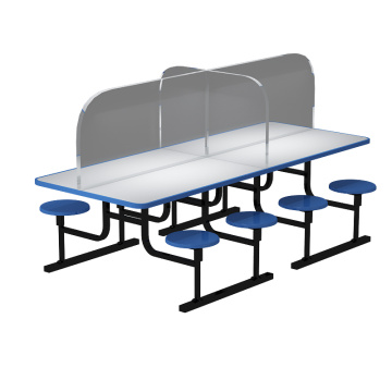 Dining Table Acrylic Plexiglass Separator Divider