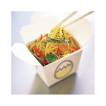 Takeaway Round Paper Noodle Box Microwave Noodle Container