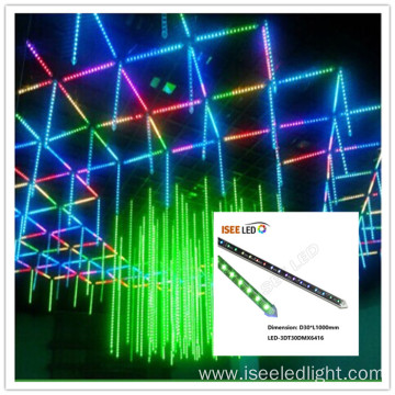 Disco Stage 3d Led Vertical Tube 1m