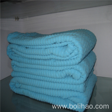 Anti Pilling Polar Fleece Jacquard Fabric